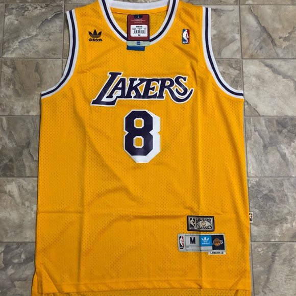 90700ef47749 Kobe Bryant Throwback Lakers NBA Jersey